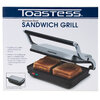 Toastess - Presse-sandwiches en acier inoxydable - 5