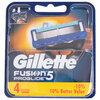 Gillette Fusion - Lames de rasoir Proglide, paq. de 4