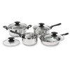 Starfrit - Everyday basix 8-piece stainless steel cookware set
