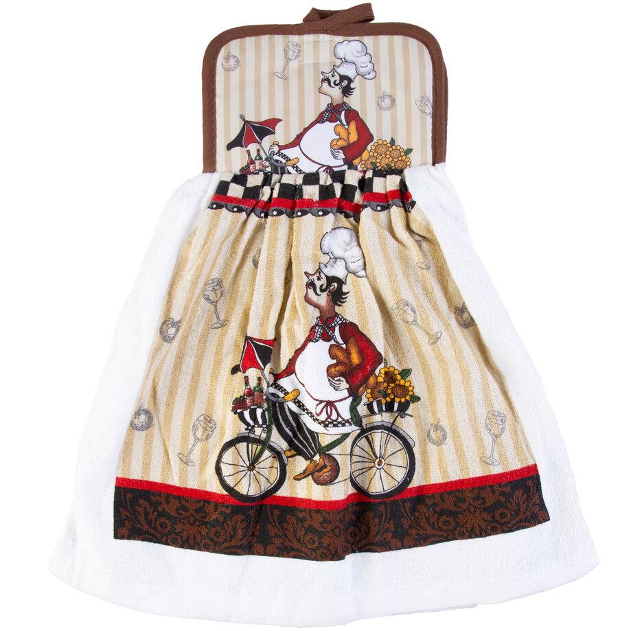 Cotton concepts - Chef Collection, dishcloth & potholder