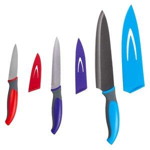 Neumark - Ensemble de 3 couteaux avec protège-lame