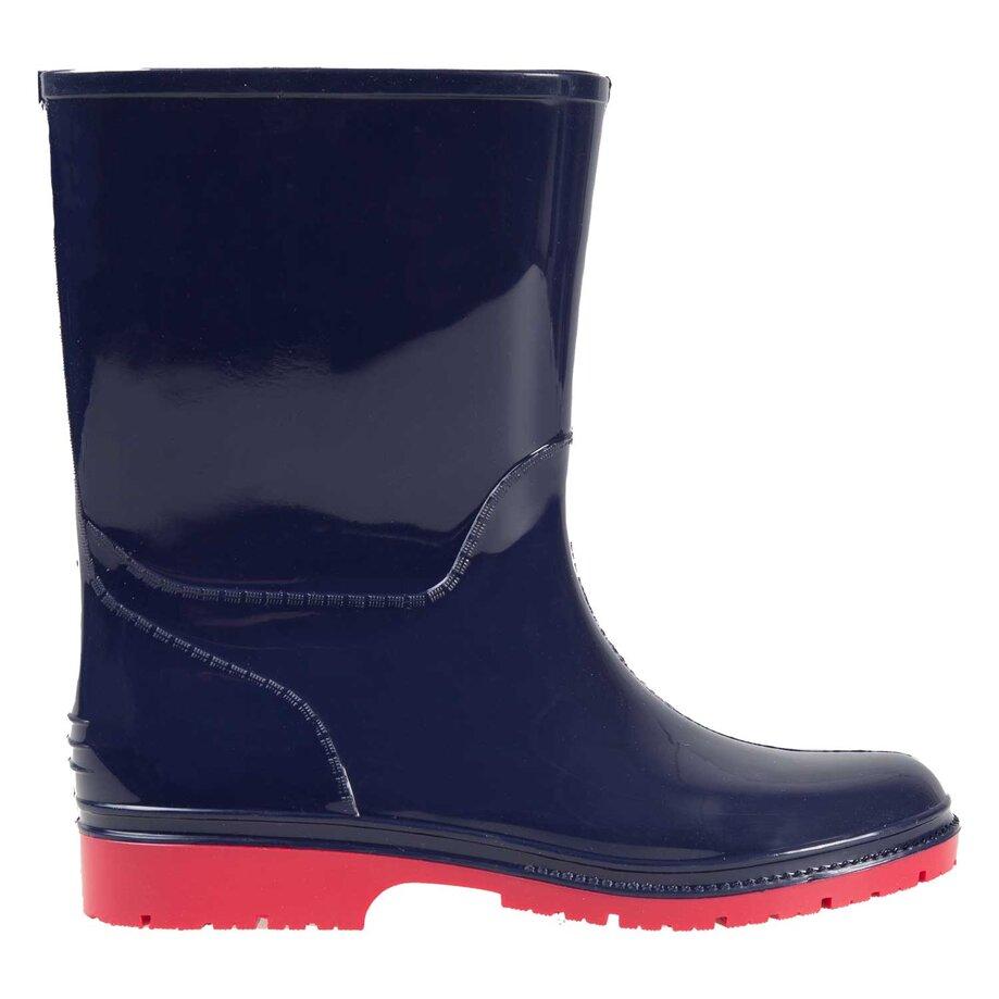 Boys' rubber rain boots, size 13