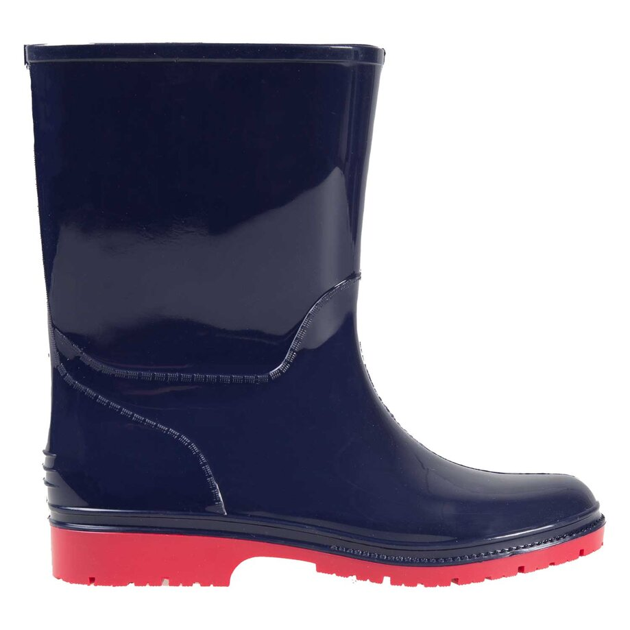 Boys' rubber rain boots, size 2