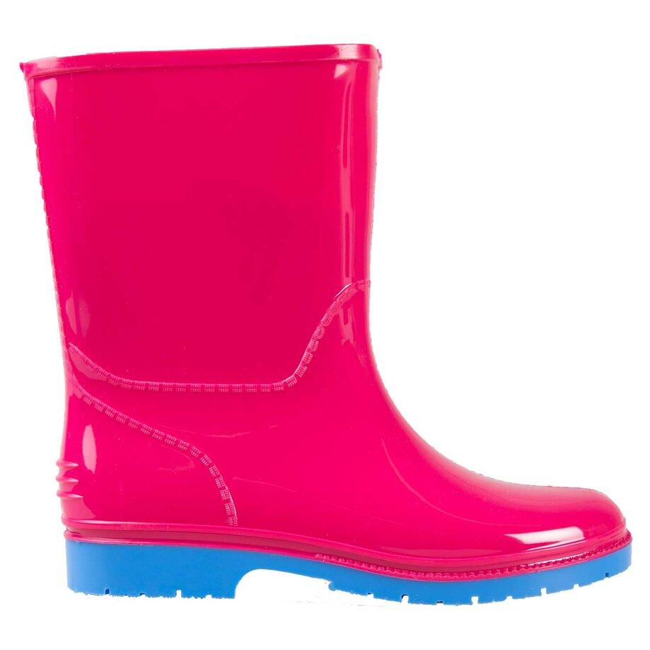 Girl's rubber rain boots, size 1