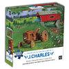 KI - Puzzle, J. Charles, Covered bridge and tractor, 1000 pcs