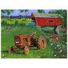 KI - Puzzle, J. Charles, Covered bridge and tractor, 1000 pcs - 2
