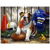 KI - Puzzle, Linda Picken, Possession du ballon par le bulldog, 300 mcx - 2