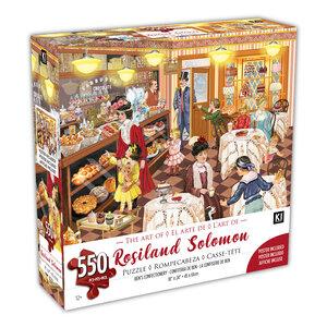 KI - Puzzle, Rosiland Solomon, La confiserie de Ben, 550 mcx