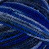 Ombré acrylic yarn, blue ombré, 100g - 2