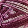 Ombré acrylic yarn, dark pink ombré, 100g - 2