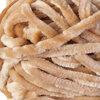 Velvet polyester yarn, tan, 100g - 2