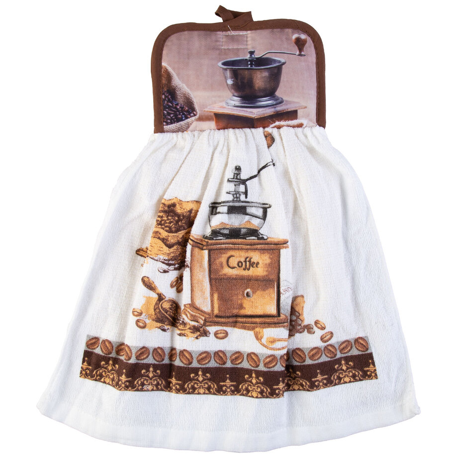 Cotton Concepts - Coffee Collection, dishcloth & potholder
