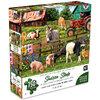 KI - Puzzle, Sharon Steele, A day on the farm, 750 pcs
