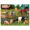 KI - Puzzle, Sharon Steele, A day on the farm, 750 pcs - 2
