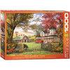 Eurographics - Puzzle, Dominic Davidson, Old pumpkin farm, 1000 pcs