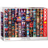 Eurographics - Puzzle, Totem poles, 1000 pcs