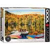 Eurographics - Puzzle, Lakeside cottage, Quebec, 1000 pcs