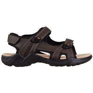 Gardella - Sandales de sport ajustables, triple bande velcro pou