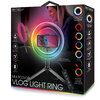 Bytech - Bague lumineuse vlog multicolore - 2