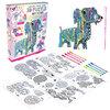 Fashion Angels - Color your own 3D puzzle, puppy 3D puzzle kit