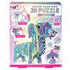 Fashion Angels - Color your own 3D puzzle, puppy 3D puzzle kit - 2