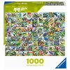 Ravensburger - Ninety-nine delightful birds, 1000 pcs