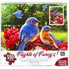 KI - Puzzle, Flights of Fancy, Greg Giordano: Summer bluebirds and geranimuns, 550 pcs