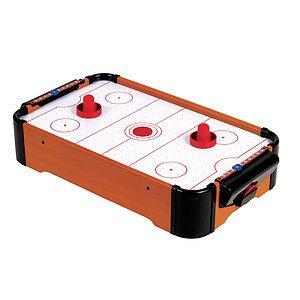 Air hockey sur table
