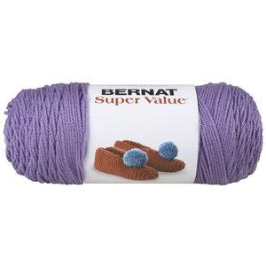 Bernat Super Value - Laine acrylique, lavendre