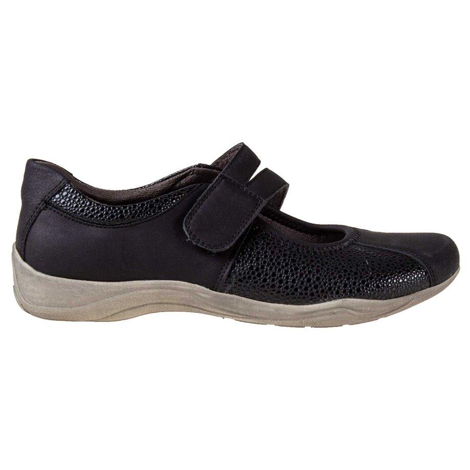 Chaussures de sport à enfiler pour femmes à bout rond avec fermeture velcro, taille 5