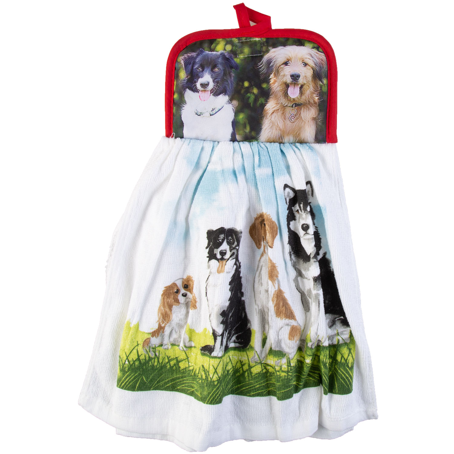 Cotton Concepts - Woof Collection, dishcloth & potholder