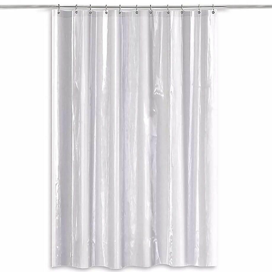 """Hotel par Domay - Doublure rideau de douche, qualité industrielle, 70"""" x 71"""", clair"""