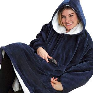 Huggle Hoodie - Ultra plush blanket hoodie