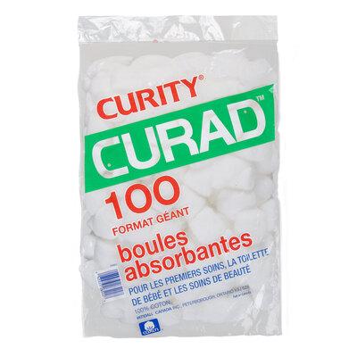 Jumbo size absorbent cotton balls, pk. of 100