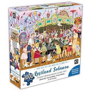 KI - Puzzle, Rosalind Solomon, Carousel party, 1000 pcs