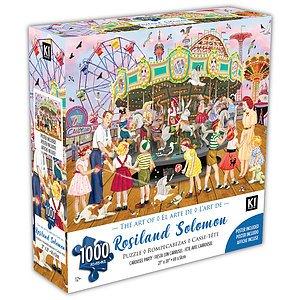 KI - Puzzle, Rosalind Solomon, Fête de carrousel, 1000 mcx
