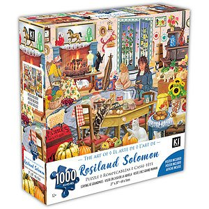 KI - Puzzle, Rosalind Solomon, Staying at grandma's, 1000 pcs