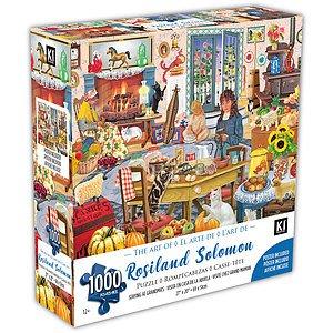 KI - Puzzle, Rosalind Solomon, Visite chez gand maman, 1000 mcx