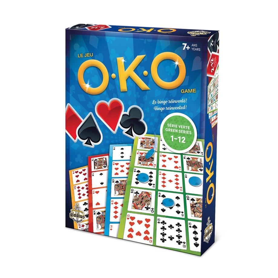O.K.O game, bilingual