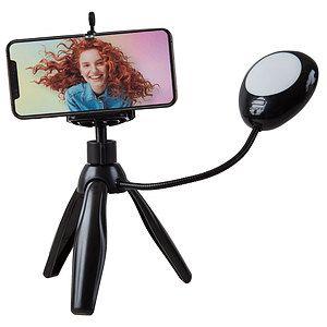 Polaroid - Trépied pour smartphone avec éclairage à selfie