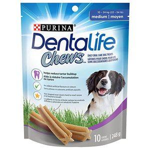 Purina - Dentalife Chews daily oral care dog treats