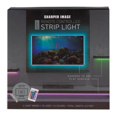 Sharper Image - 6.5' ' LED remote controlled strip light