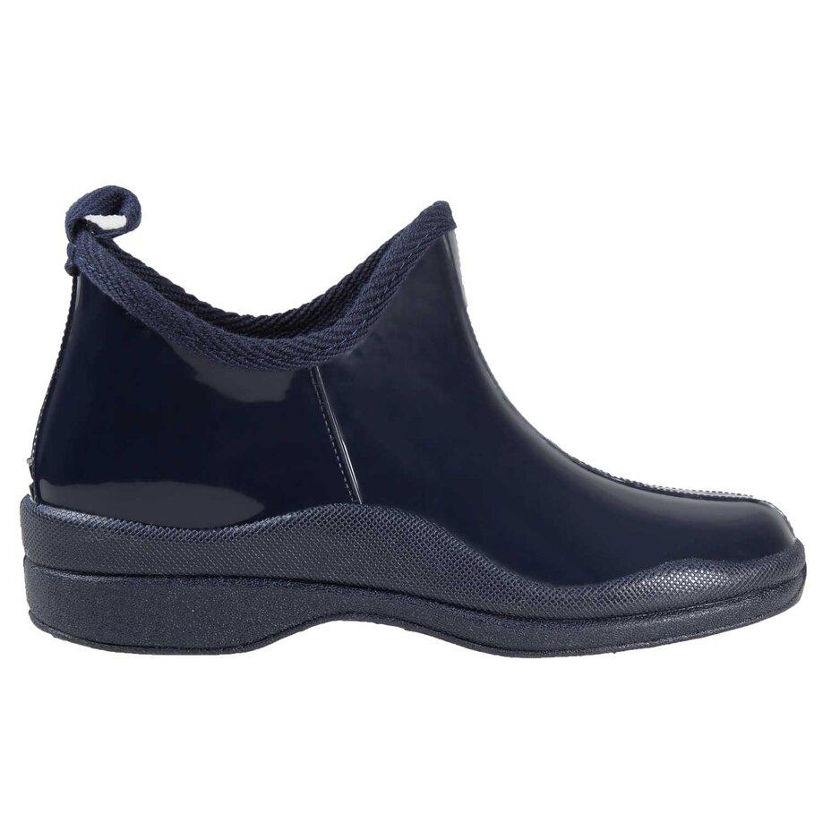 Simon Chang - Women's rubber rain booties, size 8