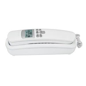 VTech - Téléphone trimstyle avec afficheur/afficheur de l'appel en attente, blanc